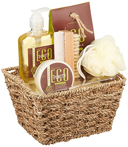 Koehler Home Decor Holiday Christmas Seasonal Thanksgiving Eco Purity Verbena Bath Spa Gift Set