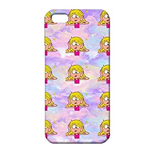 iPhone 5 5s SE Emoji Face Cover Case,Personalised Emojis Pattern 3D Hard Phone Case Snap on iPhone 5 5s SE