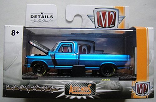 LE BLUE 1969 FORD F-100 RANGER TRUCK AM06 LIMITED PRODUCTION 6,000 PIECES WORLDWIDE ()