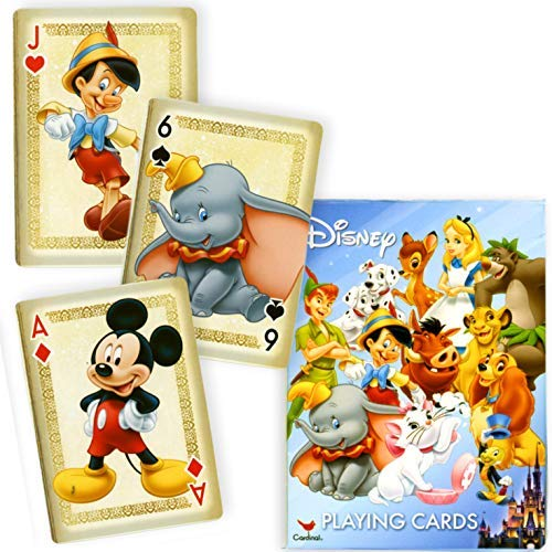 Disney Friends Playing Cards - Mickey Mouse and More!