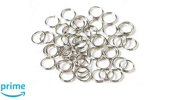 Open Jump Rings Metal Iron Link Loops Split Rings Jewelry Finding Connector Sale