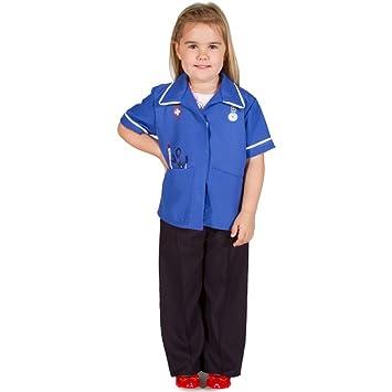 Amazon.com: Para niños niñas azul moderno enfermera trabajo ...