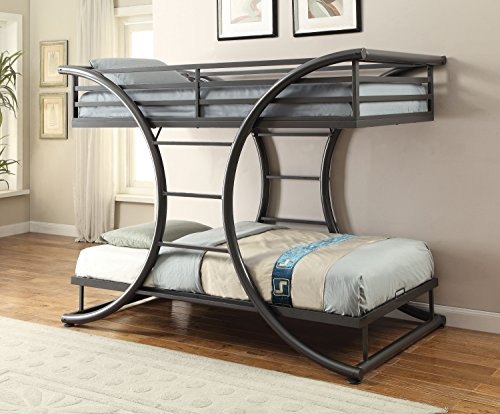 Coaster Home Furnishings 461078 Bunk Bed, 82.25