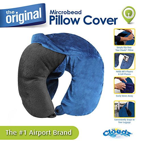 Cloudz Washable Pillow Cover - Blue