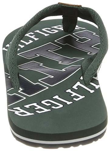 Green Beach Grün Herren Jungle TH Zehentrenner Sandal Tommy Hilfiger 300 Essential 14Txz6