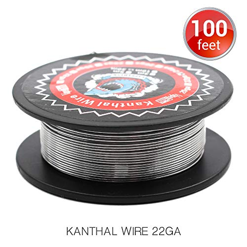 100 Feet Kanthal A1 Coils 22AWG Vapethink Resistance Wire Round