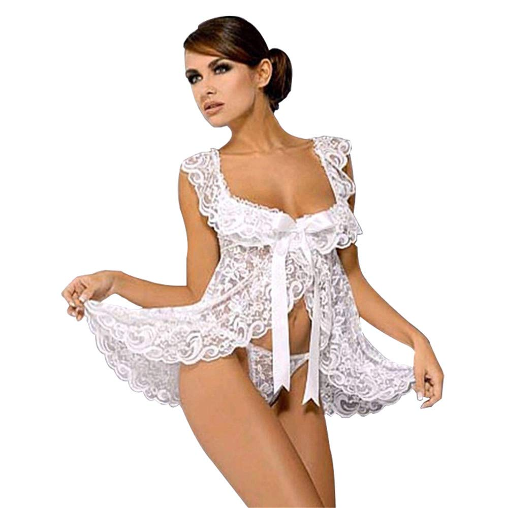 Diversión sexy Corsés Mujererotic para Mujererotic Corsés Bodys De Las Mujeres Tamaño Grande S-6Xl Erotic Lingerie Cárdigan Femenino De Encaje Sling Pijamas Perspectiva Wholesale, XXL 67cfb9