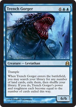 Magic: the Gathering - Trench Gorger - Commander