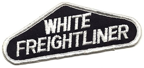UPC 881314859726, White Freightliner Trucking Patch 5-1/48 Inches Long Vintage