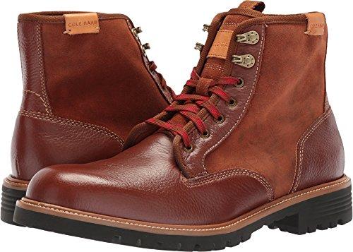 (Cole Haan Men's Grantland Plain Toe Lace up WP Fashion Boot, Woodbury Wp, 13 Medium US)