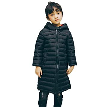 81c6aebe9 Amazon.com : Kids Winter Clothes Baby Boys Girls Warm Coats Front Zipper  Thick Hoodie Outerwear Jacket (7 years old, Black) : Beauty