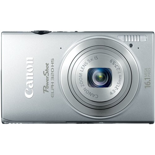 Canon PowerShot ELPH 320 HS 16.1 MP Wi-Fi Enabled CMOS Digit