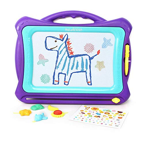 Hailey and Elijah Magnetic Drawing board