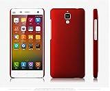 WOW Imagine Matte Rubberised Hard Case Back Cover For XIAOMI MI 4 MI4 (Maroon Wine Red