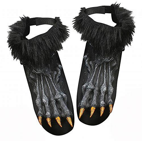 Werewolf Shoe Covers Costume -