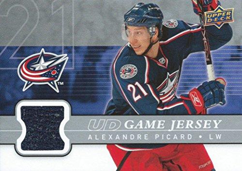 (HCW) 2008-09 Upper Deck Game Jersey ALEXANDER PICARD NHL Hockey 00845
