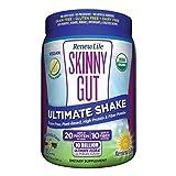 Renew Life Skinny Gut Adult Probiotic Shake - Ultimate Shake, Dietary Fiber Supplement - 10 Billion – Vanilla, 13.4 ounces