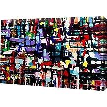 "PrintArt GW-POD-23-BB-RC-016A-12x8 ""Unconditionally"" by Alicia Zyburt Gallery Wrapped Giclee Canvas Art Print,,12"" X 8"""