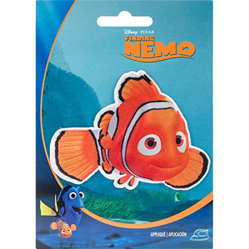 Wrights 193 1156 Disney Nemo Iron-On Applique