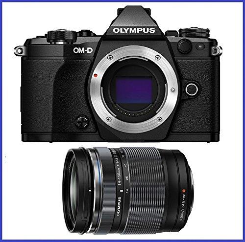 OM-D E-M5 Mark II Mirrorless Micro Four Thirds Digital Camera (Body, Black) + Olympus M.Zuiko ED 14-150mm f/4-5.6 II Lens (Micro Two Thirds Camera compare prices)