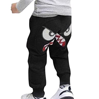 f301288c2372 Baby Kids Pants,Baby Children Kids Boys Girls Cartoon Bird Tongue Harem  Pants Trousers Pants