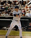 Skip Schumaker Hand Signed Autographed 16x20 Photo LA Dodgers At Bat Lower