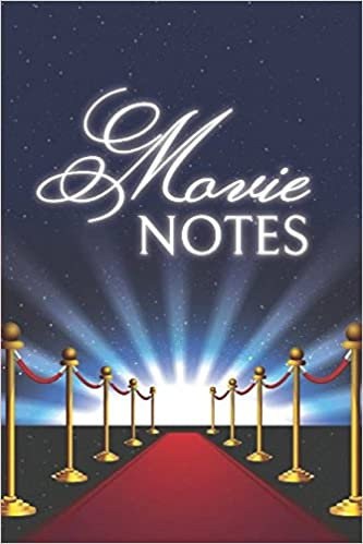 movie notes journal notebook for movie buffs and film students