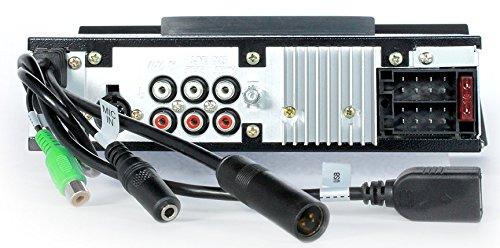 1963-1964 Chevrolet Impala 300 watt Custom Autosound USA-740 AM FM Car Stereo//Radio with built-in Bluetooth Color Change LCD Digital Display # CAM-CAE-67//8-740 AUX Inputs