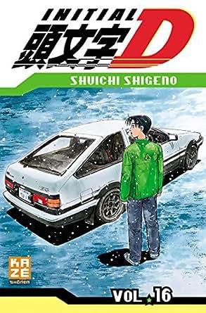 Initial D Tome 16 - Shûichi Shigeno