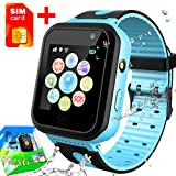 Best Gps For Kids - [SIM Card Included] Kids Phone Smart Watch IP67 Review