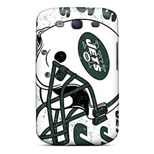 Shock Absorbent Hard Phone Cases For Samsung Galaxy S3 With Provide Private Custom Beautiful New York Jets Pictures JamieBratt
