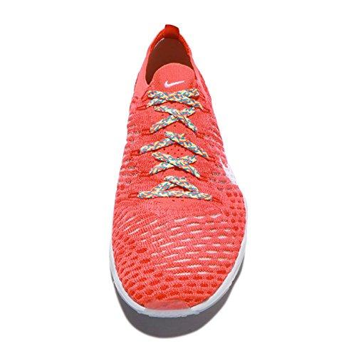 Nike Kvinners Air Zoom Uredd Flyknit Joggesko Lyse Rød / Hvit