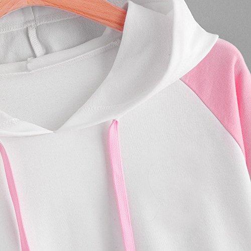 Tumblr T shirt Yoga Fille Sweat Tumblr élégant Sports Blanc Sweatshirts Fitness Pull Blouses Femme Pull Crop Imprimé capuche à shirt Automne Football T Tops 11qPv