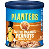 Planters Salted Caramel Peanuts, 6.0 oz Canister