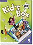 Kid's Box American English Level 5 Student's Book, Caroline Nixon and Michael Tomlinson, 0521178010