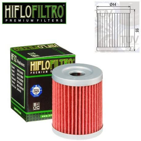 FILTRO OLIO MOTORE HIFLO HF132 PER YAMAHA MAJESTY 400 2005