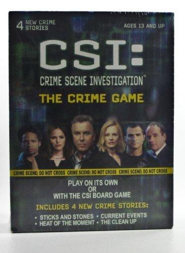 CSI: Crime Scene Investigation - The Crime Game by Specialty Board Games