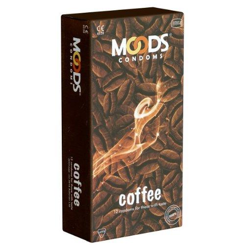 MOODS Coffee Condoms - 12 Kondome mit Kaffee-Aroma
