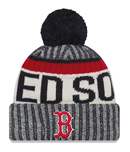 New Era Boston Red Sox MLB NE17 Sport Knit Hat with Pom