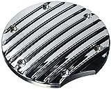 Yamaha 5S7-E54A0-V0-00 Chrome  Custom Generator Cover Insert for Yamaha V-Star 950