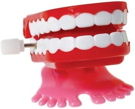 Wind-Up Chattering Teeth