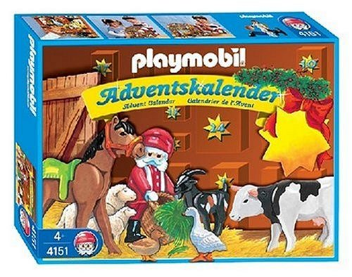 Playmobil Animal Christmas Advent Calendar 4151 Modern Living City-Life Airport Zoo Pirates City-Life 911 City-Life Police Playmobil 1 2 3 Farm Knights Rescue contruction Toys Vikings SuperSet Dino Expedition Rally construction