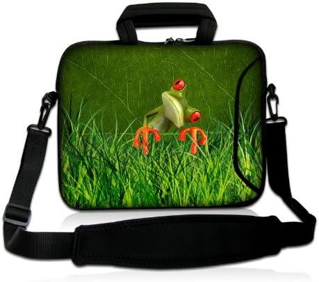 Mariposas con luz rosa Luxburg/® Design Funda bandolera Blanda Bolso Sleeve para Ordenador Port/átil//MacBook de 15,6 pulgadas motivo