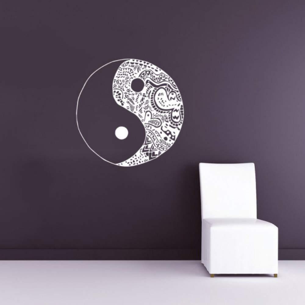 Ying Yang Imagen Etiqueta de La Pared Poster Especial Decoración ...
