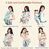 Windsleeping Toddler Baby Carrier With Hood