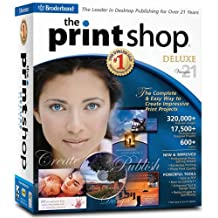 Print Shop 21 Deluxe with 320,000 Graphics
