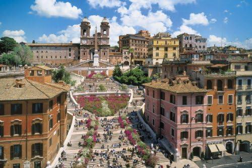 1000 master piece Rome's historic district IV-Trinita di Monti church! Puzzle Aim [Italy] 11-324 (japan import) by Epoch