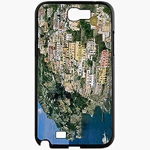 Unique Design Fashion Protective Back Cover For Samsung Galaxy Note 2 Case City Black