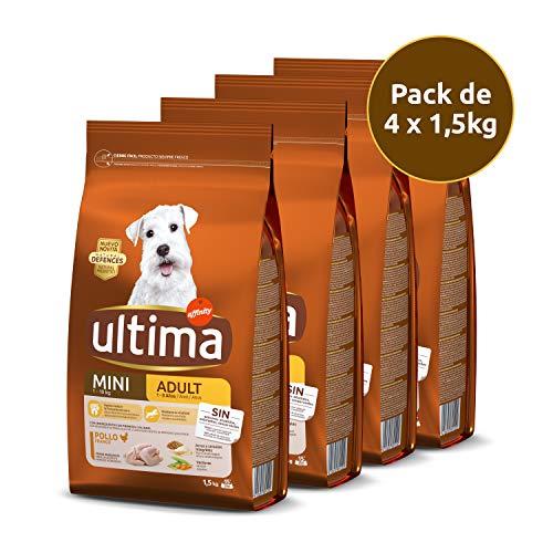 Comprar Ultima Pienso para Perros Mini con Pollo - Pack de 4 x 1.5 kg, Total: 6 kg - Advance Pienso para perro - Tiendas Online Envíos Baratos 24/48H