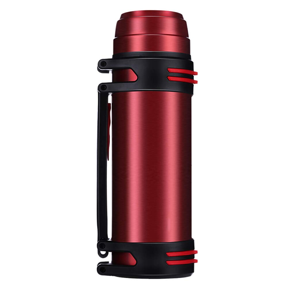 Sportflasche Isolier Becher Thermo Becher Travel Mug Kaffeebecher Wasserflasche Trinkbehälter Trinkflaschen-Outdoor-Portable Wasserflasche Mit Großer Kapazität JINRONG